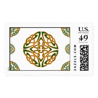 Kiss Me I'm Irish Postage Stamps