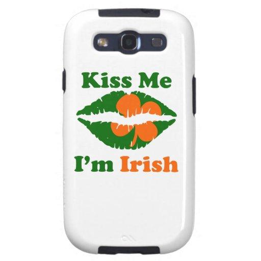 Kiss Me I'm Irish Samsung Galaxy SIII Cover