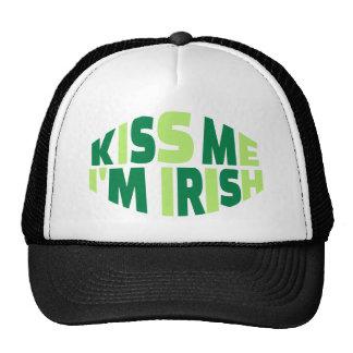 Kiss me I'm Irish St. Patrick's day Trucker Hat
