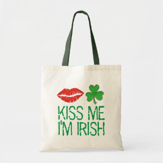 Kiss Me I'm Irish St. Saint Patrick's Day Tote Bag