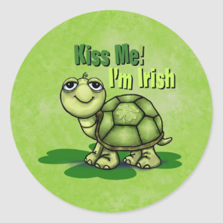 Kiss Me I'm Irish sticker
