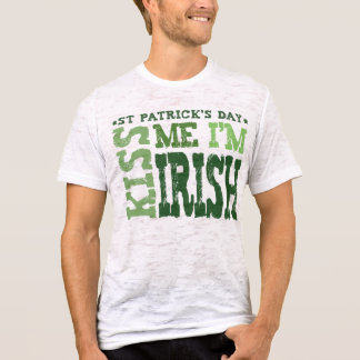 KISS ME I'M IRISH - t-shirt