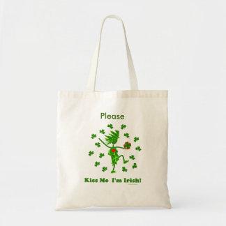 Kiss Me I'm Irish! Tote Bag