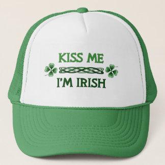 Kiss Me, I'm Irish Trucker Hat