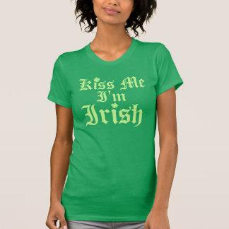 Kiss Me I'm Irish Shirts