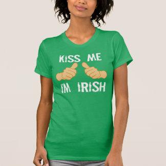 Kiss Me, I'm Irish T Shirt