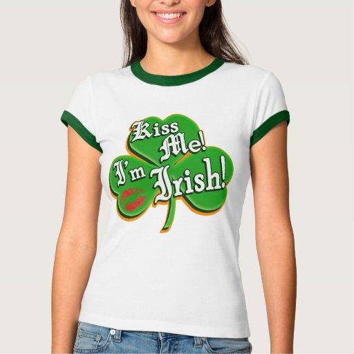 Kiss Me I'm Irish Tshirts