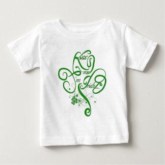 Kiss me I'm Irish Vine Clover II Baby T-Shirt