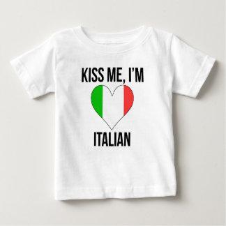 Kiss Me I'm Italian Tee Shirt