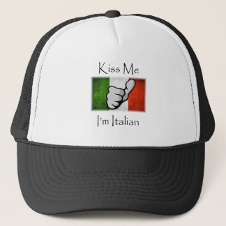 Kiss ME I'm Italian Trucker Hat