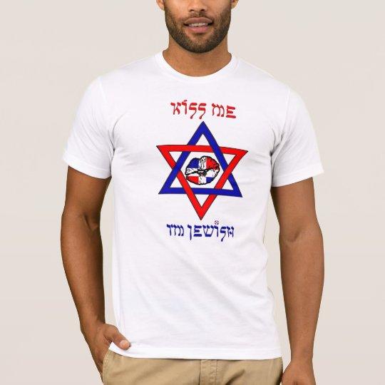 Kiss Me, I'm Jewish - Dominican Republic T-Shirt