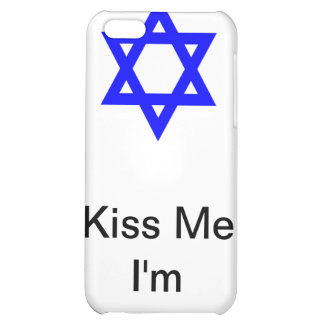 Kiss Me I'm Jewish iPhone 5C Cases