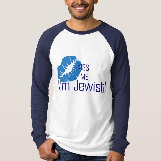 Kiss Me I'm Jewish T-Shirt