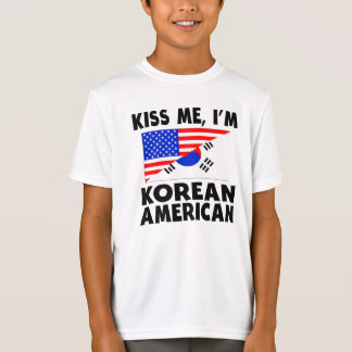 Kiss Me I'm Korean American T-Shirt