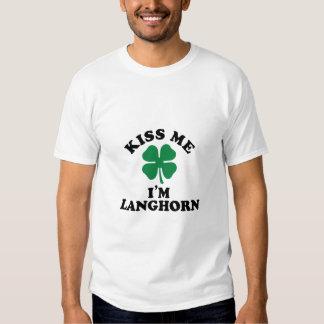 Kiss me, Im LANGHORN T-shirt