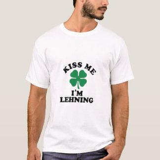 Kiss me, Im LEHNING T-Shirt