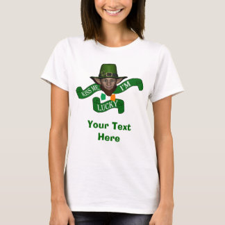 Kiss me I'm lucky St Patrick's day T-Shirt