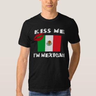 Kiss Me I'm Mexican Tee Shirt