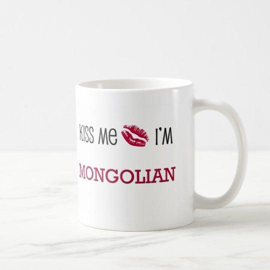 Kiss Me I'm MONGOLIAN Coffee Mug