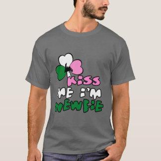 Kiss Me I'm Newfie T-Shirt