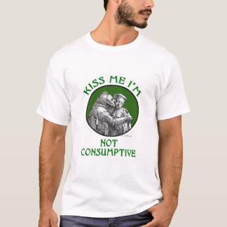 Kiss Me I'm Not Consumptive Men's Shirt
