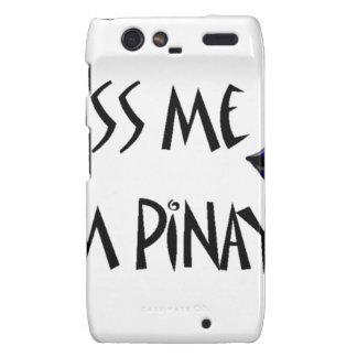 Kiss me I'm pinay Motorola Droid RAZR Cover