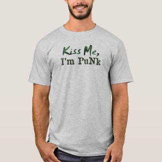 Kiss me, I'm Punk T-Shirt