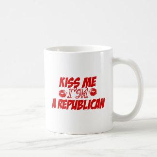 Kiss me I'm republican Coffee Mug