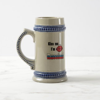 Kiss Me I'm Russian Beer Stein