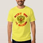 Kiss Me I'm Russian Tshirt