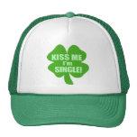 Kiss Me I'm Single Mesh Hat