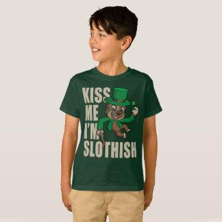 Kiss Me I'm Slothish T-Shirt