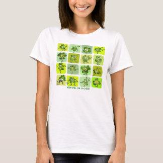 Kiss Me I'm So Irish - Cute Cartoon Shamrocks T-Shirt