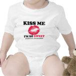 Kiss me I'm so sweet Shirts