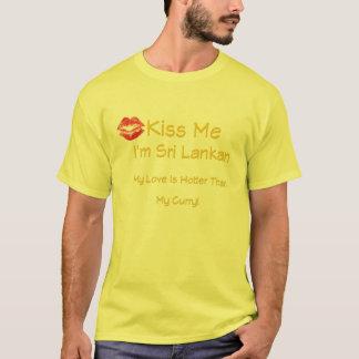 Kiss Me I'm Sri Lankan T-Shirt