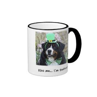 Kiss me... I'm Swiss Berner mug