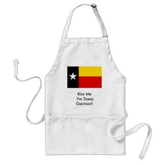 Kiss Me I'm Texas German! Apron