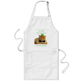 Kiss me, I'm the Irish cook! Long Apron