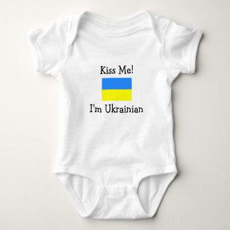 Kiss Me! I'm Ukrainian Infant Creeper