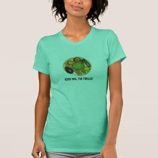 Kiss me, I'm vegan T-Shirt