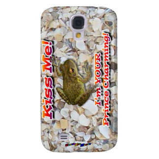 Kiss Me! I'm Your Prince Charming! Samsung Galaxy S4 Cover