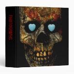 "Kiss Me I'm Yours Skull 1.5"" Photo Album Binders"