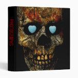 "Kiss Me I'm Yours Skull 1"" Photo Album Vinyl Binder"