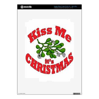 kiss me iPad 3 decal