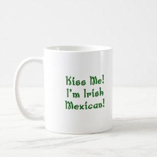 Kiss Me Irish Mexican Mug