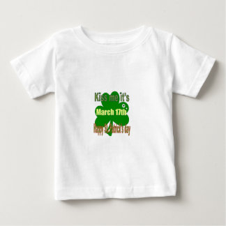 kiss me it's St. Patricks day Baby T-Shirt