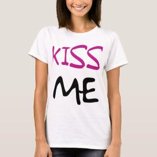 Kiss Me Ladies Baby Doll T-Shirt