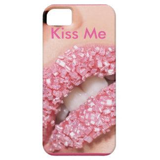 Kiss Me Lip Design iPhone 5 Cover