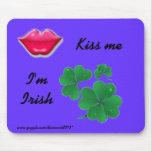 Kiss Me Mousepad