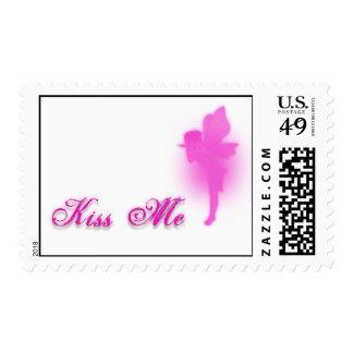 Kiss Me Postage Stamps
